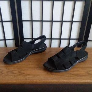 Ecco Black Sandals